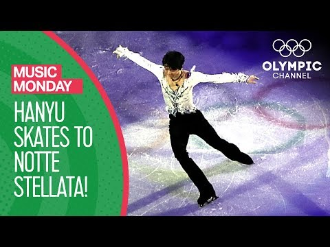 Yuzuru Hanyu's Notte Stellata Figure Skating Gala Tribute | Music Monday