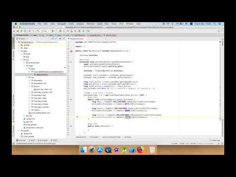 Develop simple New Year Countdown in Android Studio