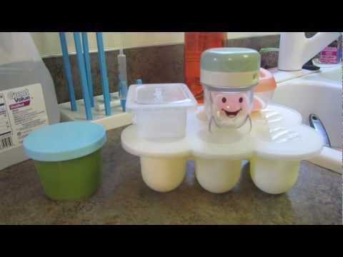 Baby food storage cups review