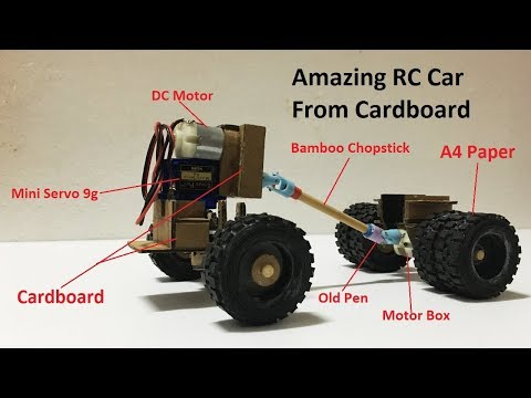 Remote Control hoememade How to Make RC Heavy Truck Very Easy by yourself