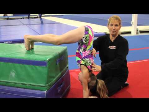 Shoulder Exercises for a Gymnast
