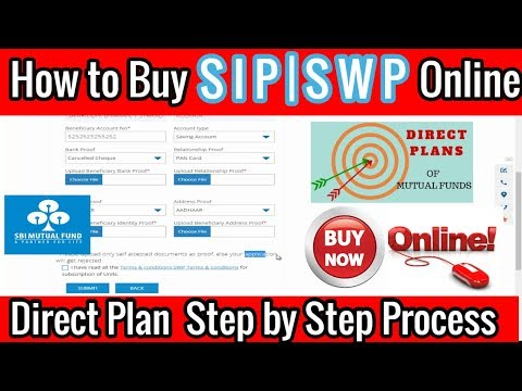 How To Buy Mutual Funds SIP Online|Buy Step by Step Mutual fund SIP SWP in SBI #Part 1