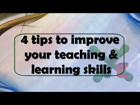 4 tips to improve your teaching and learning skills (with CC)