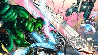 Hulk vs Silver Surfer (Planet Hulk Vol 1: Exile)