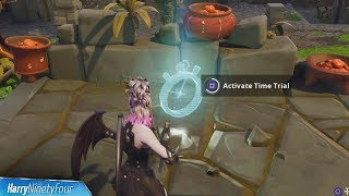 3 Easy Time Trial Locations & Solutions - Fortnite Battle Royale (Season 6 Challenge)