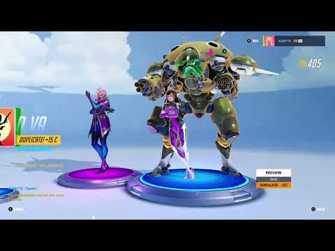 Overwatch OE BCRF 2018 Last Day Opening 6 Loot Boxes