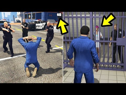 GTA 5 - This Happens if you Get Busted & Can't Afford Bail!