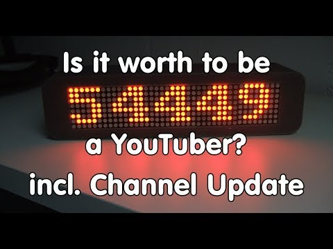 #178 Is it worth to be a YouTuber? Channel Update