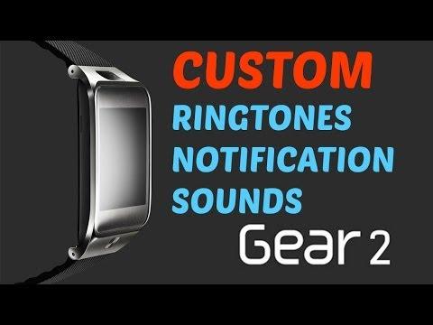 Custom Ringtones and Notifications GEAR 2! Samsung Gear 2 Tutorial!