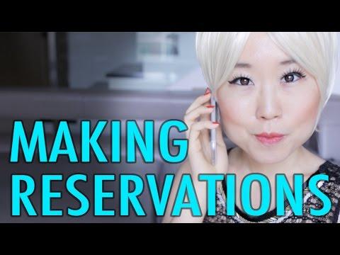 Making Reservations in Korean