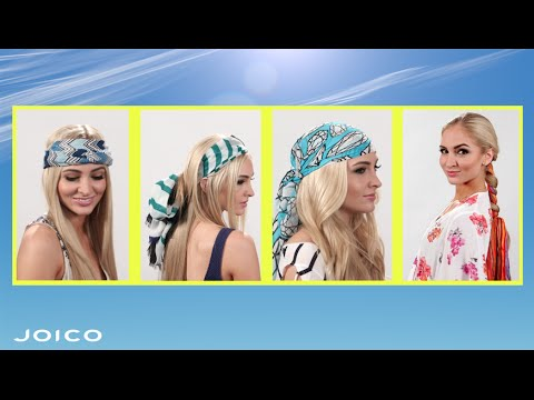 Top 4 Summer Head-Scarf Tutorials