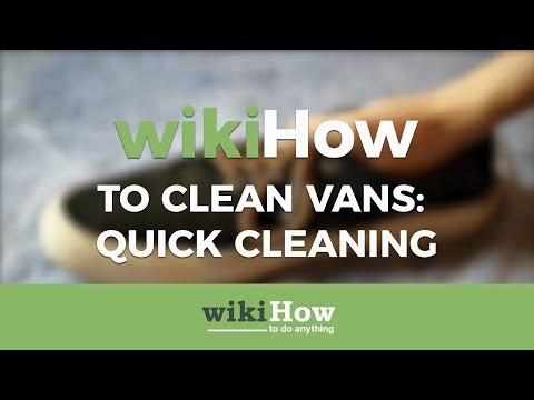 How to Clean Vans Quickly
