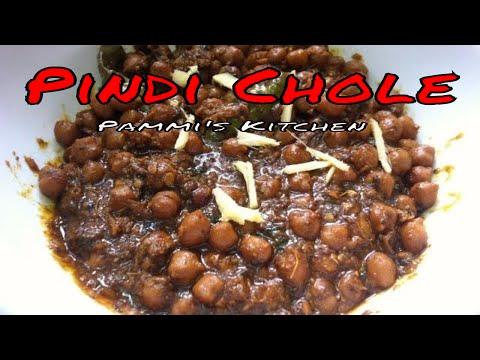 Pindi Chole | Punjabi Chole Masala | Pindi Chana Recipe (In Hindi English Subtitles)