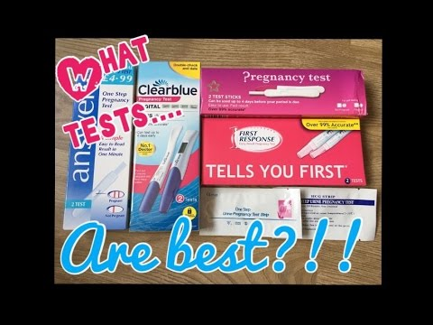 Pregnancy test review || which tests are best?