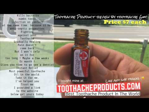 How To Get Rid Of A Toothache Stop Exposed Nerve Pain Or Cracked Tooth Pain Relief