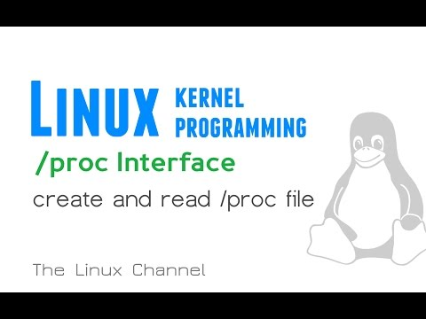 191 Linux Kernel /proc Interface - create and read /proc file