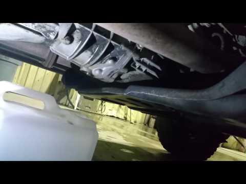 02 TJ Wrangler manual transmission fluid change