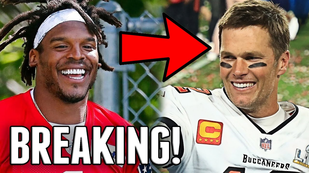 BREAKING: CAM NEWTON SIGNS CONTRACT WITH PATRIOTS! TOM BRADY SIGNS EXTENSION WITH TAMPA BAY!