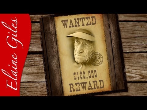 Pixelmator Tutorial - Create a Wanted Poster