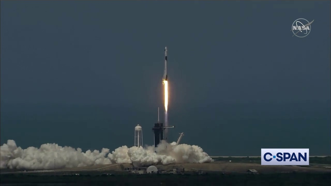 """""""Let's light this candle."""" -- NASA SpaceX Crew Dragon Launch"""