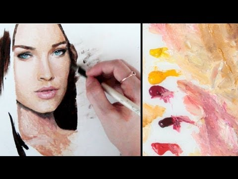 PAINTING SKIN TONES ♥ The Basics (my approach, simplified) LenaDanya