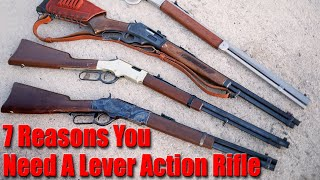 7 Reasons You Need A Lever Action Rifle