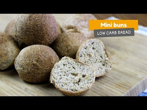 Mini buns | Low Carb Breads #4