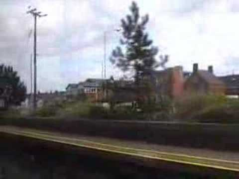 Rail Ride from Belfast Botanic to Bangor