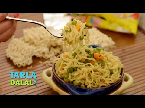 Vegetable Maggi ( Tiffin Treats) by Tarla Dalal