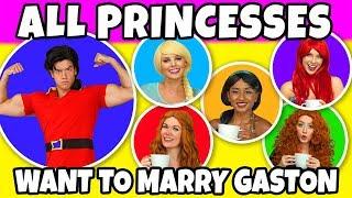 DISNEY PRINCESS TEA PARTY. (With Frozen Elsa, Belle, Ariel, Merida and Jasmine)