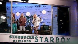 Ellen Brings Unsuspecting Fans to the Starbucks® Rewards Starbox