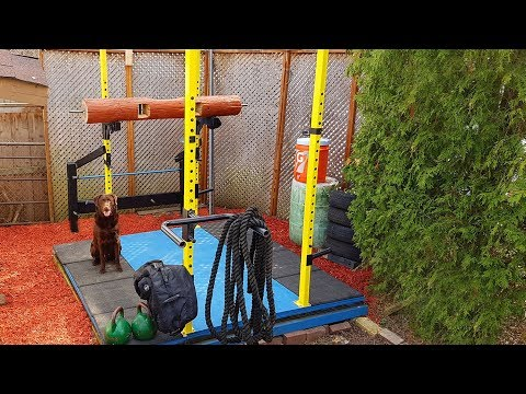 Awesome Outdoor Gym and Weightlifting Platform DIY