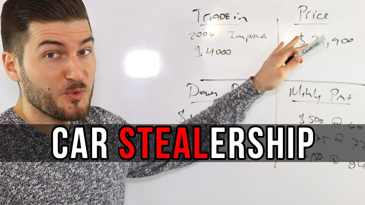 How Car Dealerships Rip You Off (The Truth)