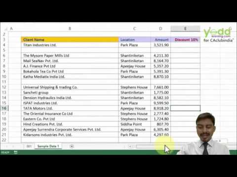 Adding/Deleting/Selecting Rows & Columns (Level 1) Excel Ninja by Prof. Rishabh Pugalia