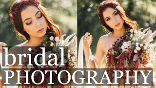 BEHIND THE SCENES | summer styled bridal photoshoot tips + tricks