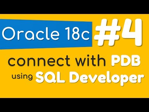 How to connect with Pluggable Database using SQL Developer by Manish Sharma
