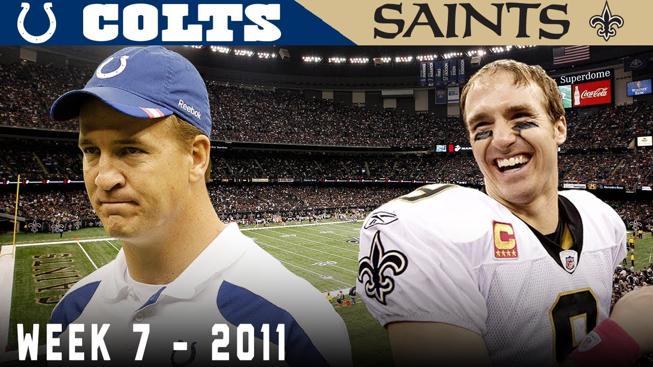 The Worst Blowout in SNF History! (Colts vs. Saints, 2011)