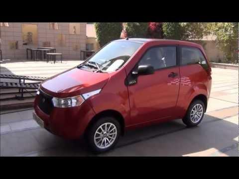 Mahindra Reva E2O Electric Car Review- Exteriors, Interiors And Features
