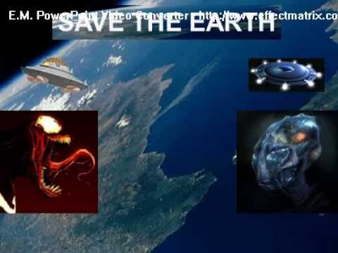 save the earth power point