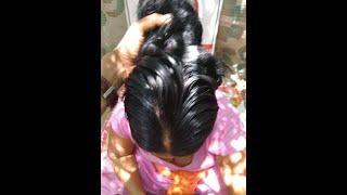 hot indian village aunty long hair sex