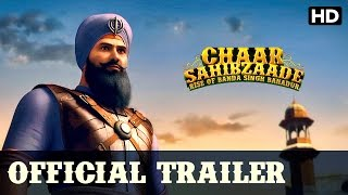 Chaar Sahibzaade: Rise Of Banda Singh Bahadur | Official Hindi Trailer With Subtitles