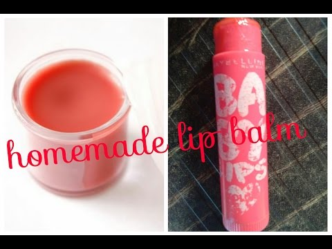 How to make Lip balm at home with Vaseline | DIY