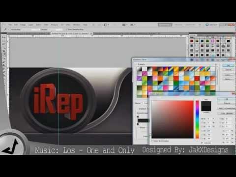 iRep Youtube Background - Speed Art