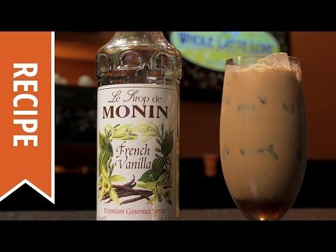 Monin French Vanilla Iced Latte Recipe