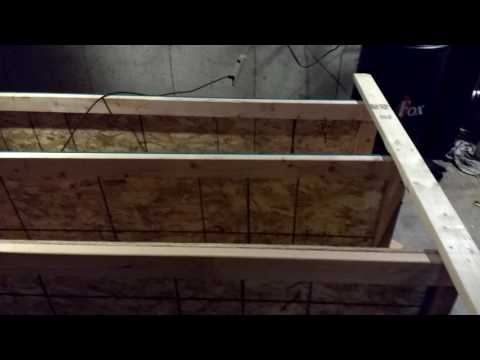 DIY Basement Shelves Quick and Easy