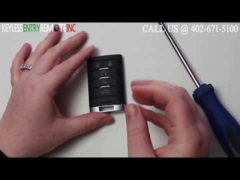 How To Replace Cadillac ATS Key Fob Battery 2013 2014