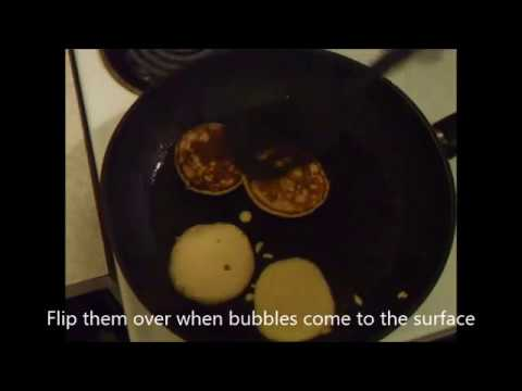 How to make a Very easy treat recipe we call pikelets  (Hot Cakes)