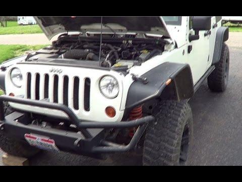 Jeep Wrangler Rubicon , Idles and Runs Rough  P0302