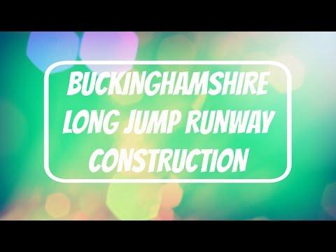 Buckinghamshire Long Jump Runway Construction