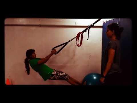 TRX workout @ Sparrc institute